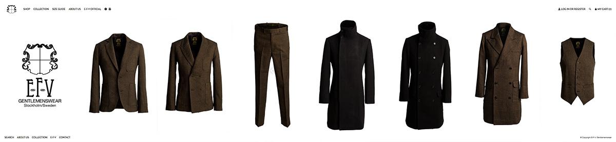 E-F-V Gentlemenswear webshop