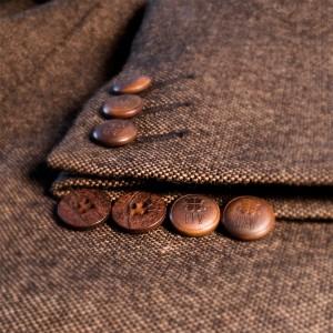 E-F-V Corozo buttons