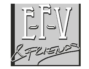 E-F-V & friends Logo